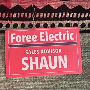 FREE w/ Bundle Shawn of The Dead Collector Nametag